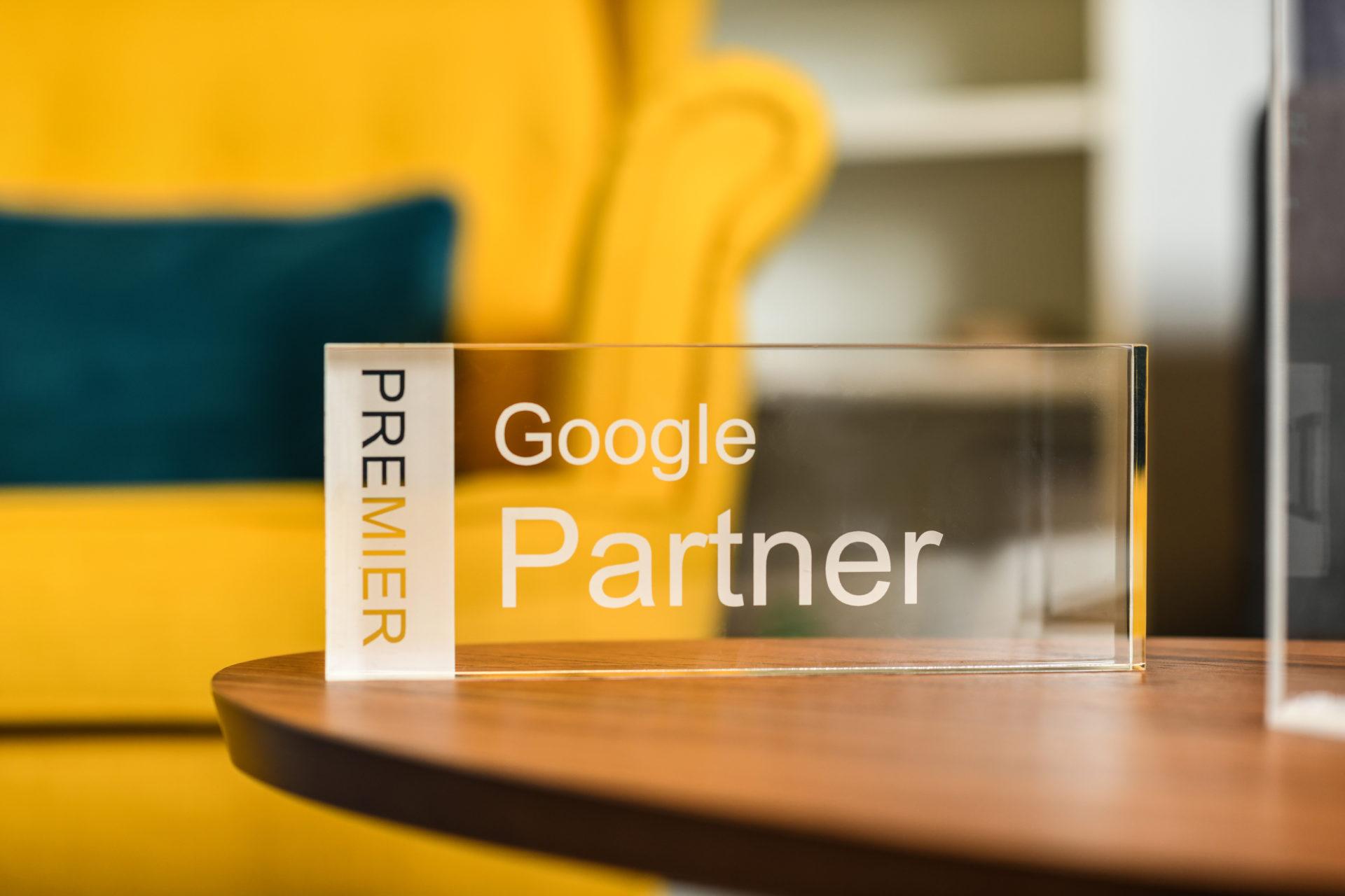 blue bee Google Partner