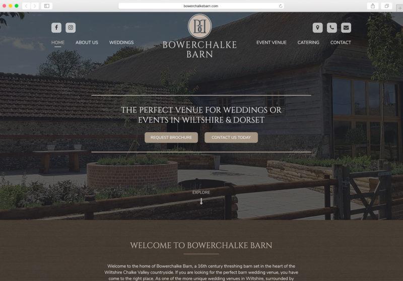 Bowerchalke Barn website