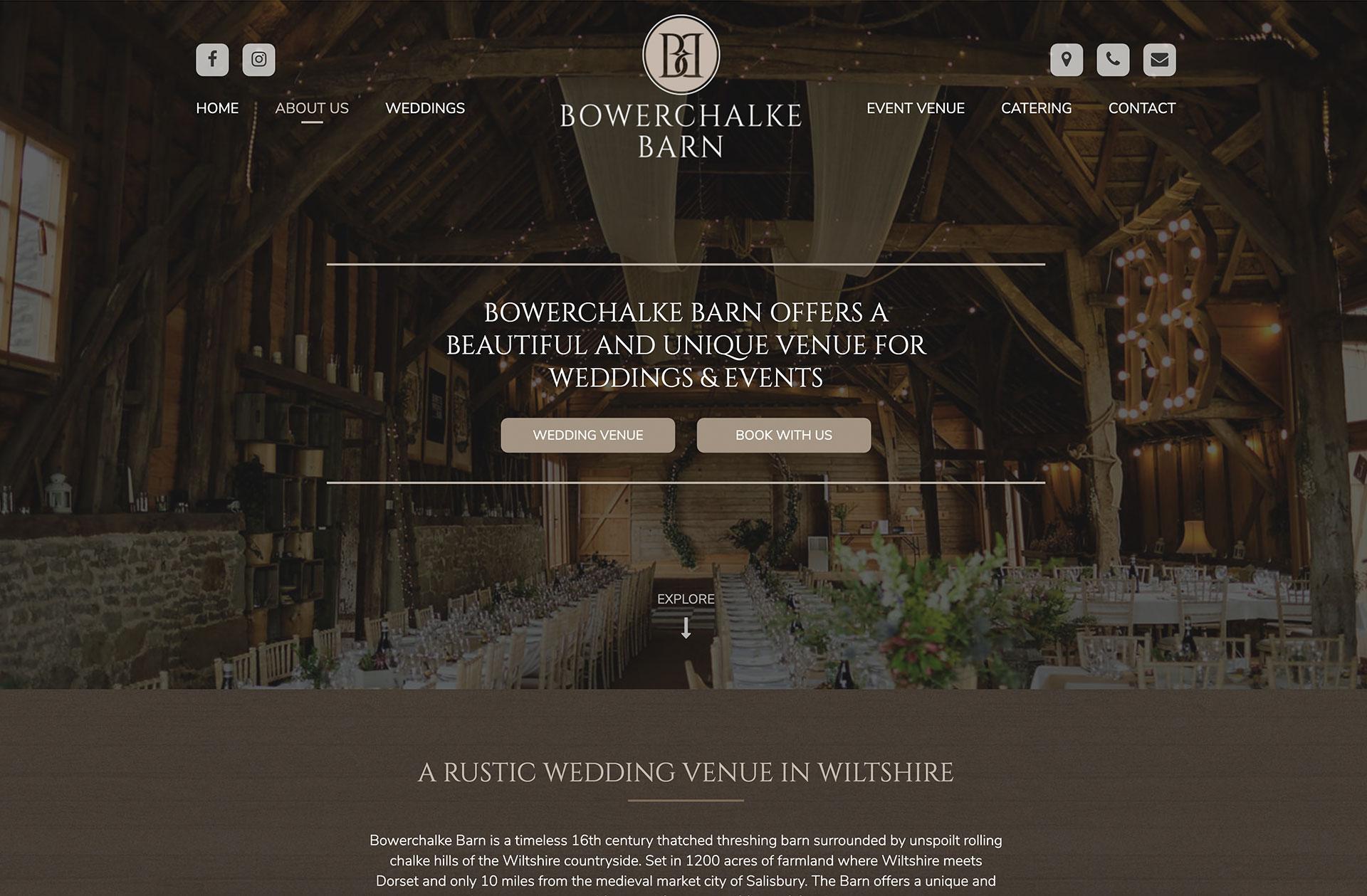 Bowerchalke Barn banner space