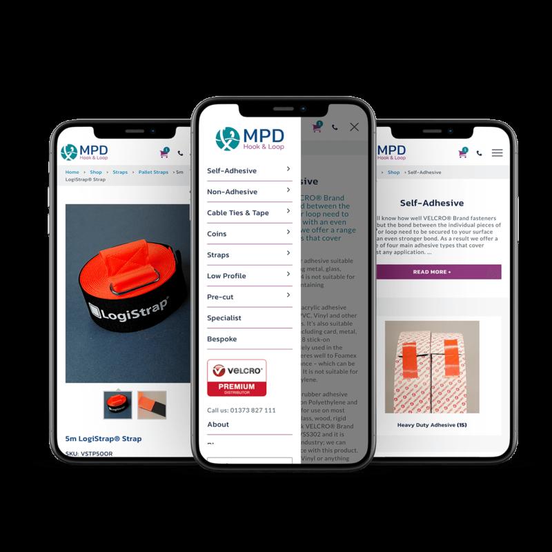 MPD ecommerce website design salisbury