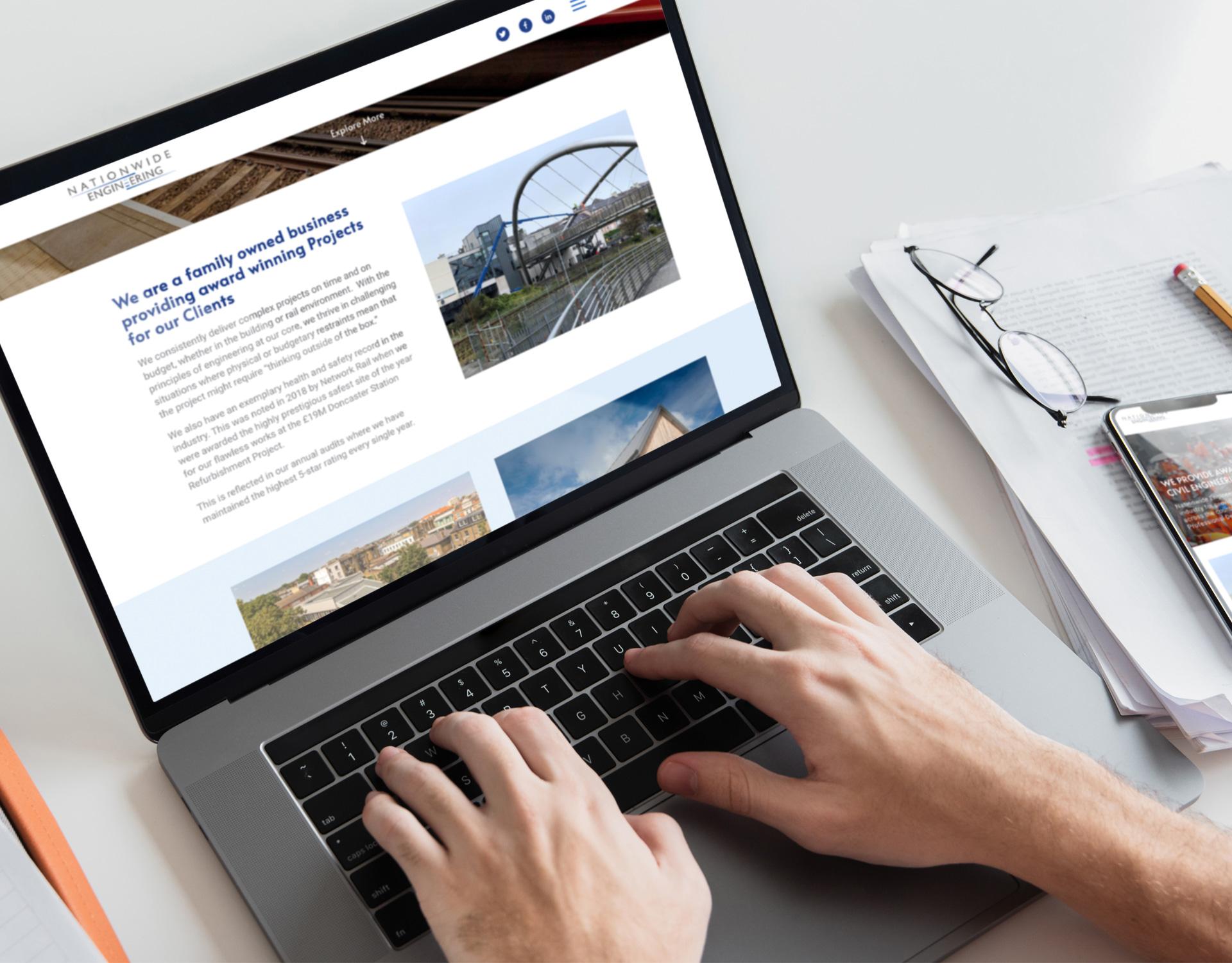 Nationwide Engineering website