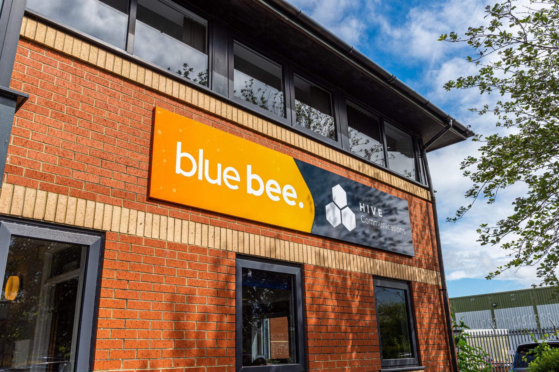 Blue bee blog
