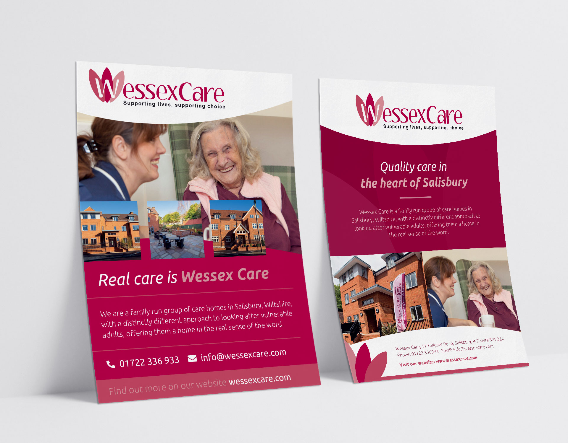 Wessex Care posters
