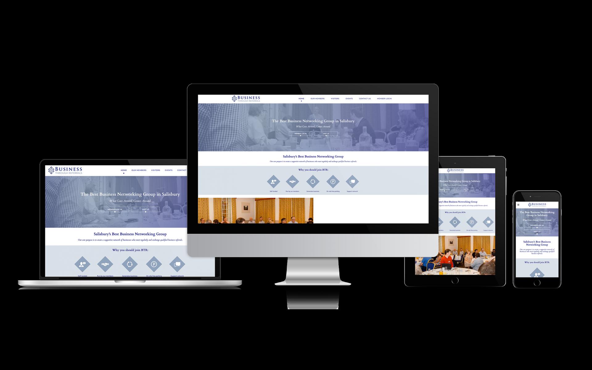 Website Design for Business Through Referrals