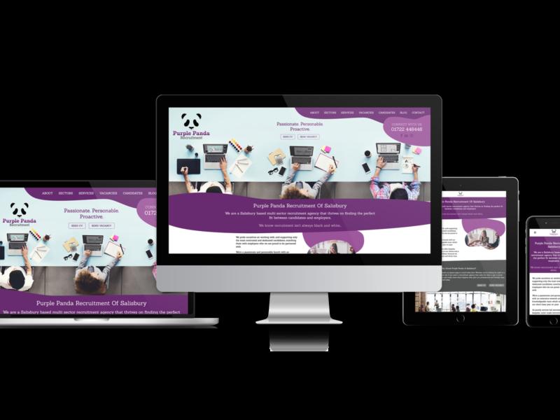 Website Design for Purple Panda Recruitment