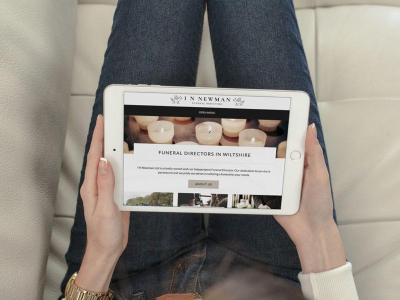 Responsive Website Design for I N Newman