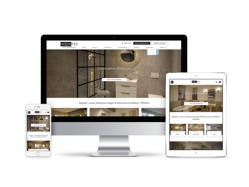 Website Design for Aquatec