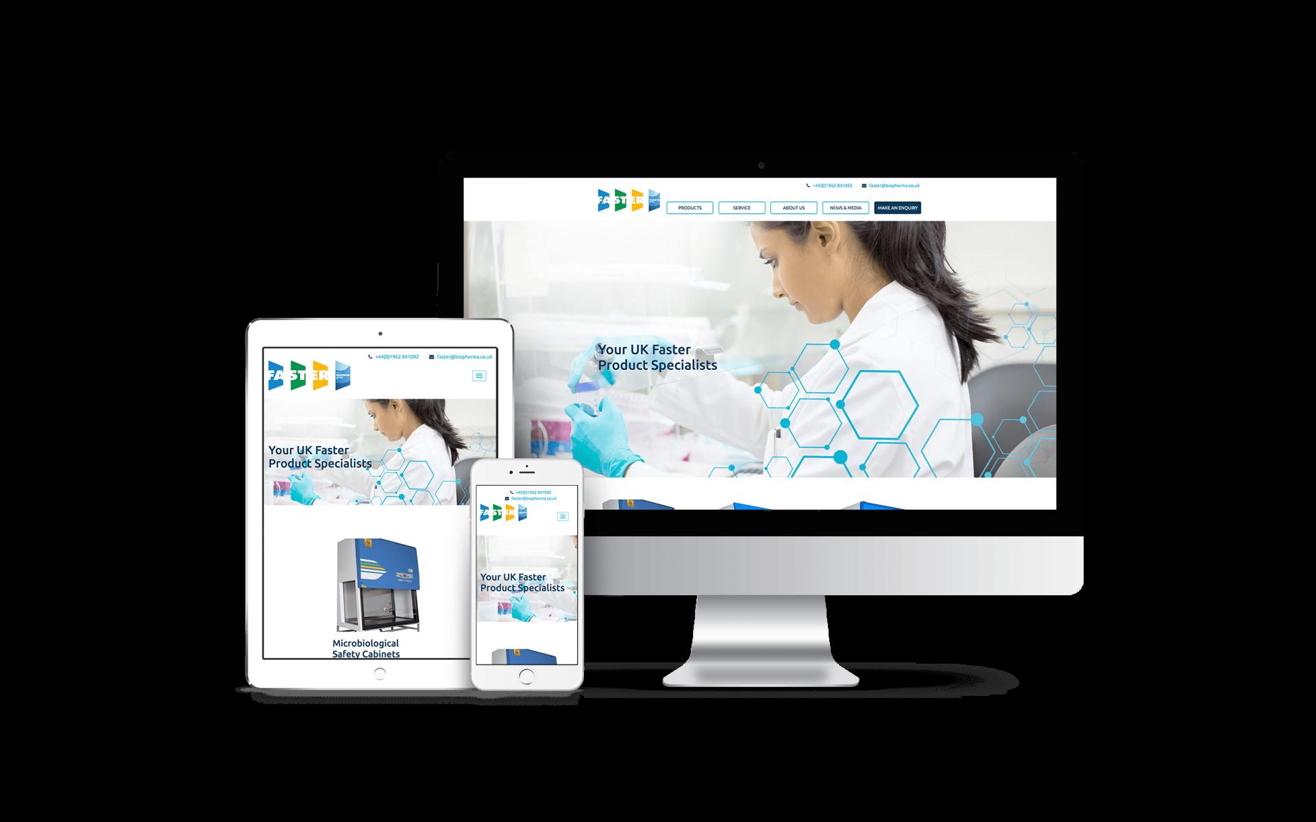 Website Design for Faster Air