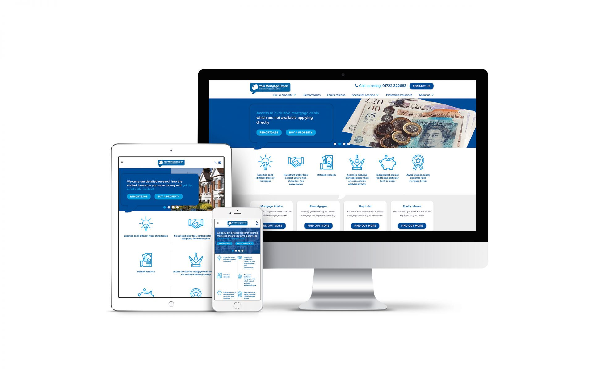 Website Design for Your Mortgage Expert