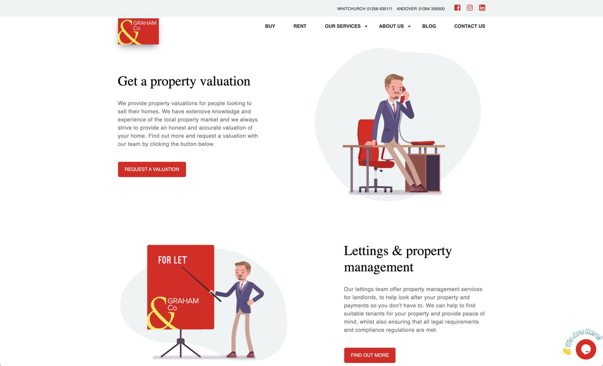 Graham & Co Website