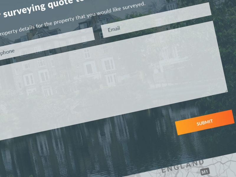 great western surveys website design