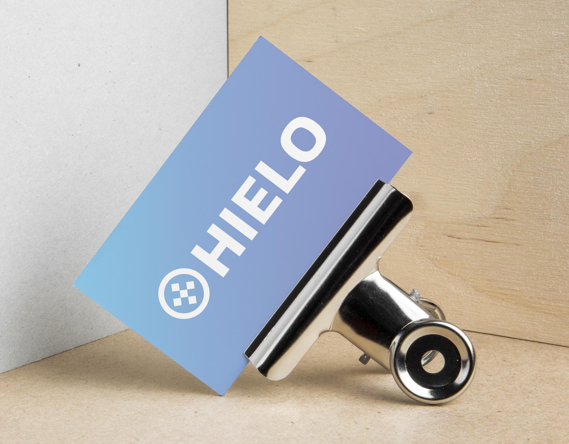 HIELO logo design