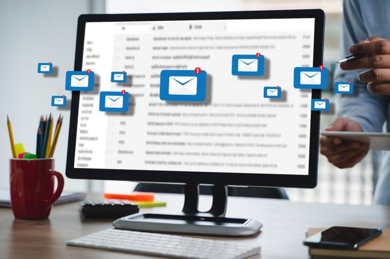 blue bee blog image email marketing