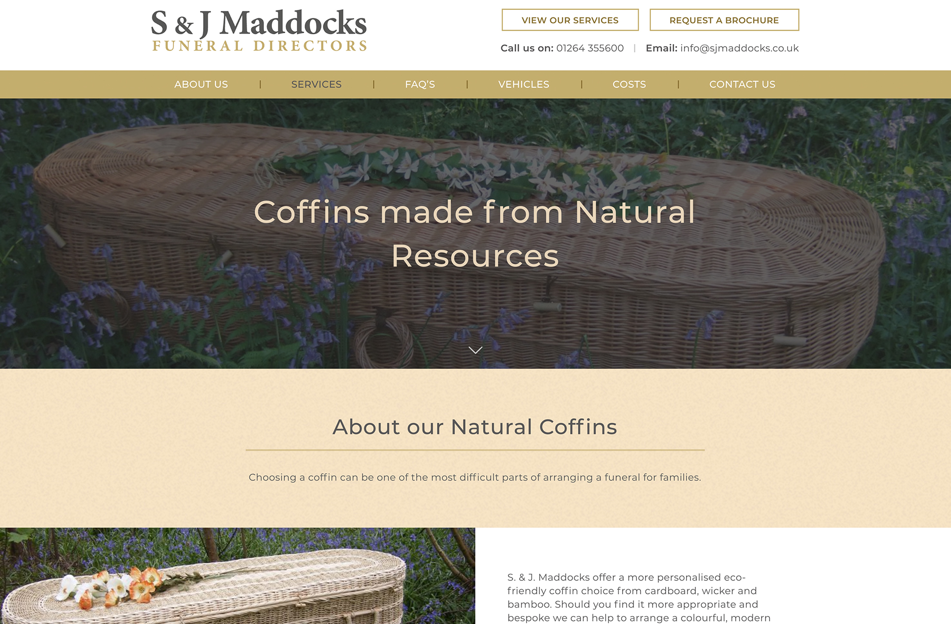 SJ Maddocks Website Design