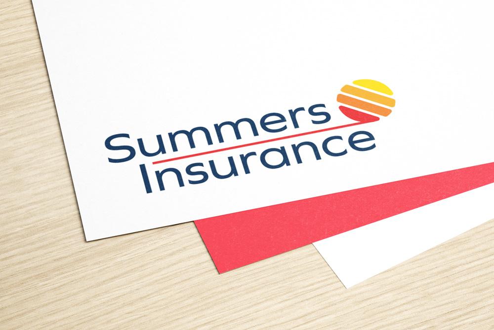 summers insurance branding