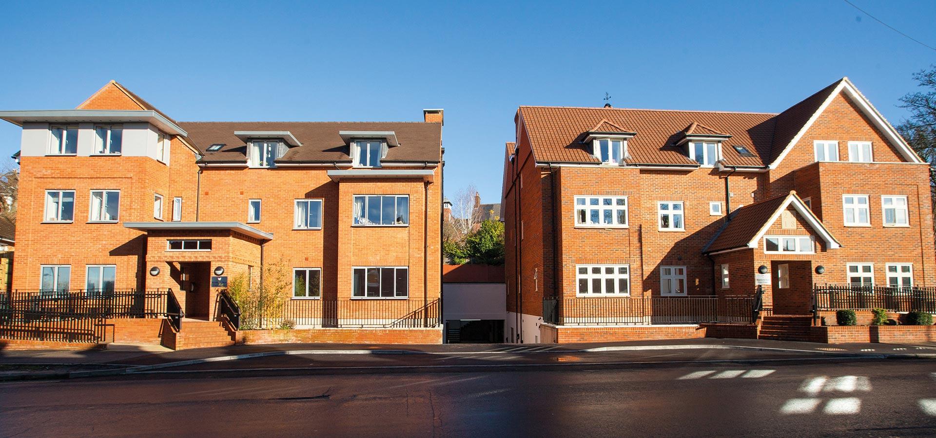 Wessex Care building